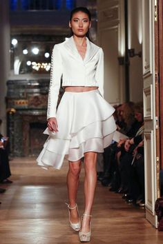 Tony Ward Couture Spring Summer 2014 Paris - NOWFASHION