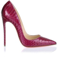 427a989b05e4 Christian Louboutin So Kate 120 glossed python pump ( 1