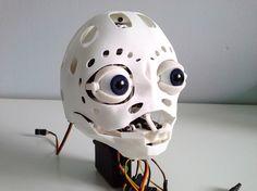 Animatronic NANO underskull 3D Printing 526