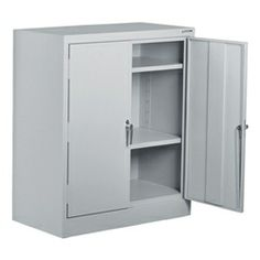 """Norwood Commercial Furniture Heavy-Duty Storage Cabinet (36"""" W x 18"""" D x 42"""" H) https://www.schooloutfitters.com/catalog/product_info/pfam_id/PFAM40328/products_id/PRO51277"""