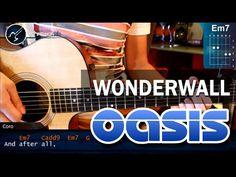 """Cómo tocar """"Wonderwall"""" Oasis en Guitarra Acústica (HD) Tutorial COMPLET..."""