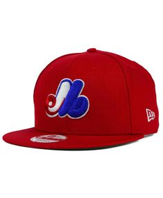 0e383c084e1 New Era Montreal Expos 2 Tone Link Cooperstown 9FIFTY Snapback Cap