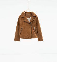 Faux suede jacket-JACKETS-GIRL | 4-14 years-KIDS | ZARA United States