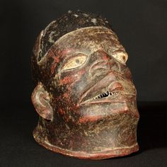 Makonde Mask : Collected by Jean Pierre Hallet