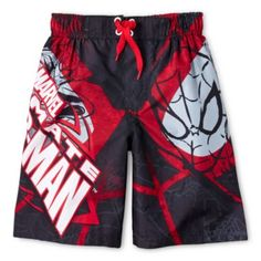 Spider-Man Swim Trunks - Boys 6-10  found at @JCPenney