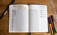 Over 15 Bullet Journal Spread Ideas and Inspirations Over 15 bullet journal templates Bullet Journal Health, Bullet Journal Yearly, Bullet Journal Tracker, Bullet Journal Spread, Bullet Journal Inspiration, Bullet Journals, Writing Inspiration, Bullet Journal Layout Templates, Bullet Journal Printables