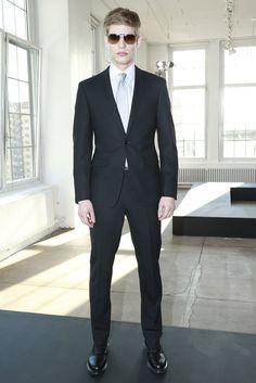 DKNY Men's RTW Fall 2013 #suit #menswear