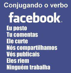 : O verbo facebook