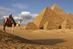 Take a virtual trip to the Great Pyramid of Giza and explore ancient Egypt.