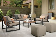 Montego Sofas with Cushions - Sofas & Sectionals - Outdoor - Room & Board