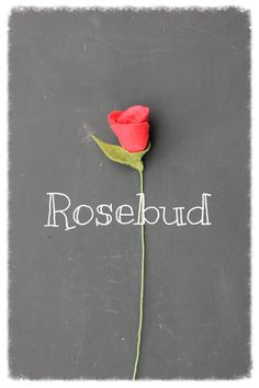 Rosebud  Build Your Own Bouquet by TheFeltFlorist on Etsy, $7.00