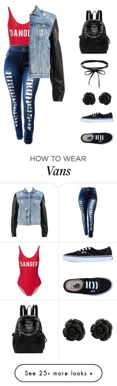 """""""Untitled #365"""" by infinity-arii on Polyvore featuring ADRIANA DEGREAS, Vans and rag & bone"""