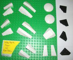 $11 #starwars #set10186 spares LEGO 2450 43710 43711 48933 41747 41748 3960 Radar Dish 41769 White 4SET 10186  #LEGO