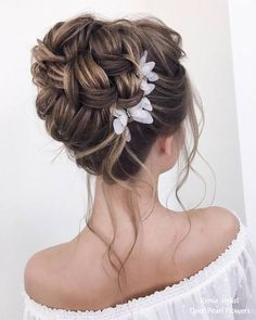 30 Best Xenia_stylist Wedding Updo Hairstyles hochzeitsfrisuren photo 2019 Long Wedding hairstyles and updos from xenia_stylist hochzeitsfrisuren photo 2019 Long Hair Wedding Updos, Wedding Hair And Makeup, Bridal Hair Updo Elegant, Updo For Long Hair, Curly Hair, Prom Hair Bun, Loose Hair, Romantic Updo, Hairstyle Wedding