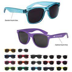 NEW Promotional Malibu Sunglasses #sunglasses #advertising #logo #summer #events   Customized Sunglasses   Promotional Sunglasses