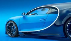 Bugatti Chiron Officially Revealed
