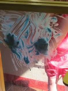 Shave cream sensory painting - - Pinned by #PediaStaff.  Visit http://ht.ly/63sNt for all our pediatric therapy pins