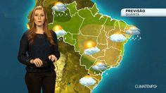 Previsão Brasil - Frente fria muda o tempo no estado de SP