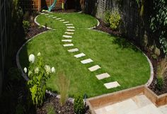 Great garden path.  Portfolio | Garden Design London, Landscape Architects, North, East, South, West London jmgardendesign.co.uk