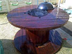 35 idées pour le recyclage des tourets de câble en bois.
