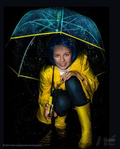 Coraline Costume  Coraline RAINCOAT for WOMENS por wickedandwonder