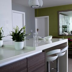 Sociable kitchen seating