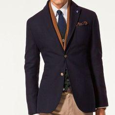 Massimo Dutti Double Wool Blazer