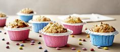 Muffinki z orzechami, jogurt naturalny, pomarańcza. Kuchnia Lidla - Lidl Polska. #lidl #dzieci #muffinki