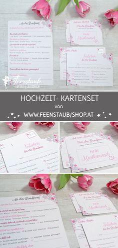 Menükarten Hochzeit Heller Glanz Brautschmuck