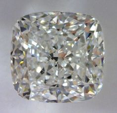 1.5-Carat Cushion Modified Brilliant Cut Diamond  This Fancy-cut E-color, and VS2-clarity diamond comes accompanied by a diamond grading report from GIA   $10675.95