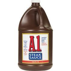 Homemade A1 Steak Sauce. Need to try this soon!