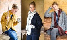 Wil je een origineel, leuk én warm vest? Dit hippe wintervest brei je gewoon zelf. Hieronder lees je hoe het moet.Of wil je tocheen sjaal breien? (Zie dan de video hierboven) Dit heb je nodig Je kunt dit vest breien in maten S, M, L, XL. De maten M, L en XL staan tussen haakjes.… Knit Crochet, Knitting, Sweaters, Cardigans, How To Wear, Jackets, Bolero, Ibiza, Vests