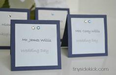 wedding place card ideas
