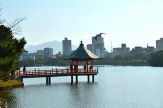 Il parco Ohori di Fukuoka è l'ombelico verde della città