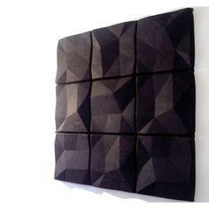 Autex Quietspace Acoustic Wall Tile – available in braille dots and recessed… – Travis Prater – Audioroom 3d Wall Tiles, Wall Tiles Design, Ceiling Tiles, Textured Wall Panels, 3d Wall Panels, Acoustic Wall Panels, Acoustic Design, 3d Wall Decor, Tile Patterns