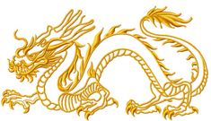 Chinese dragon machine embroidery design by MarinaARTsEmbroidery