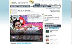 Dia de los Muertos - National Geographic Education