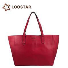 Alibaba China Supplier Wholesale Women Soft Red Leather Handbags Tote Bags  Tote Handbags, Leather Handbags 04f21fab94