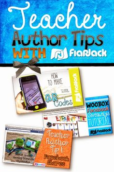 Are you a teacher author? Here are a few tips and tricks for you!