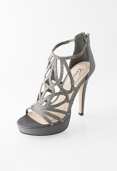 HIGH HEEL ZIPPER BAC