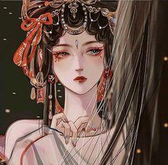 Kawaii Anime Girl, Anime Art Girl, Antique Illustration, Illustration Art, Anime Princess, Princess Zelda, Moon Goddess, Anime Profile, Fantasy Weapons