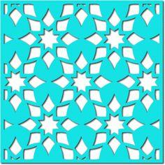 Silhouette Design Store: kite flower lattice