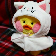 Cute Stuffed Animals, Cute Animals, Rilakkuma Plush, Cute Ducklings, Baby Icon, Duck Toy, Mochi, Little Duck, Baby Ducks