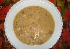 Göcseji gombaleves ~~ cookpad.com