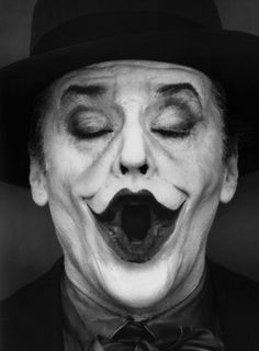 ♂ Man portrait black & white Jack Nicholson as the Joker