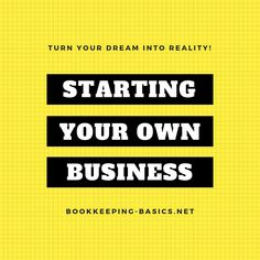 Starting Own Business - Learn quick and easy tips for turning your dream of starting your own business into a reality. Start Own Business, Starting Your Own Business, Dreaming Of You, Learning, Tips, Studying, Teaching, Onderwijs, Counseling