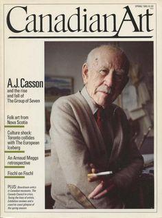 CASSON, A.J. - Canadian artist (1898-1992): -- 'A Painter's Life' - Canadian Art