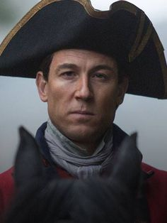 Tobias Menzie as Jonathan Randall PERFECT! #outlander