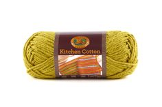 KITCHEN COTTON- KIWI - Made in the USA, this classic worsted-weight cotton is perfect for kitchen items and bath accessories. Its bright, retro-inspired palette is ideal for stripes, ripples, and colorwork projects. The smaller size of the skeins means that you can mix and match your own color palette affordably.