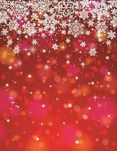 Vector Winter snowflakes background 02 | Vector background